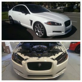 2014 Jaguar XF 3.0 Supercharged tuned a while back by @ecutuninggroup_norcal @eliteautodesigns 35hp 41lbs tq to the wheels, first 3.0 SC tuned in NA #jaguar #xf #supercharged #ecutuning #ecutuninggroup #eliteautodesign #sanfrancisco