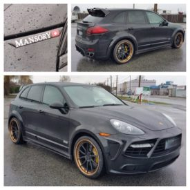 2014 Porsche Cayenne Turbo S Mansory Edition tuned by @etgvancouver today. #Porsche #Cayenne #Turbo #Mansory #ecutuning #ecutuninggroup #vancouver