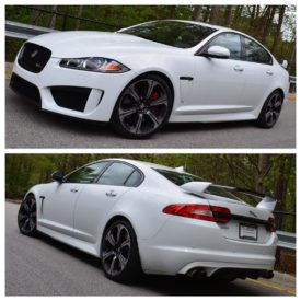 This Jaguar XFR-S was tuned by ECU Tuning Group of North Carolina last year with the result of 637hp with our pulley/tune upgrade. The car was re-tuned this morning for cat-less headers. The tolerance in the rear O2 monitors was raised so the CEL doesn't come on. #Jaguar #XFRS #JaguarTuning #ECUTuning #ECUTuningGroup