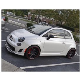 Fiat 500 Abarth tuned by @etg.carolinas The gain on this vehicle is 38hp 49lbs tq. All these Fiats can be programmed via OBD2 #Fiat #Abarth #FiatTuning #ECUTuning #ECUTuningGroup