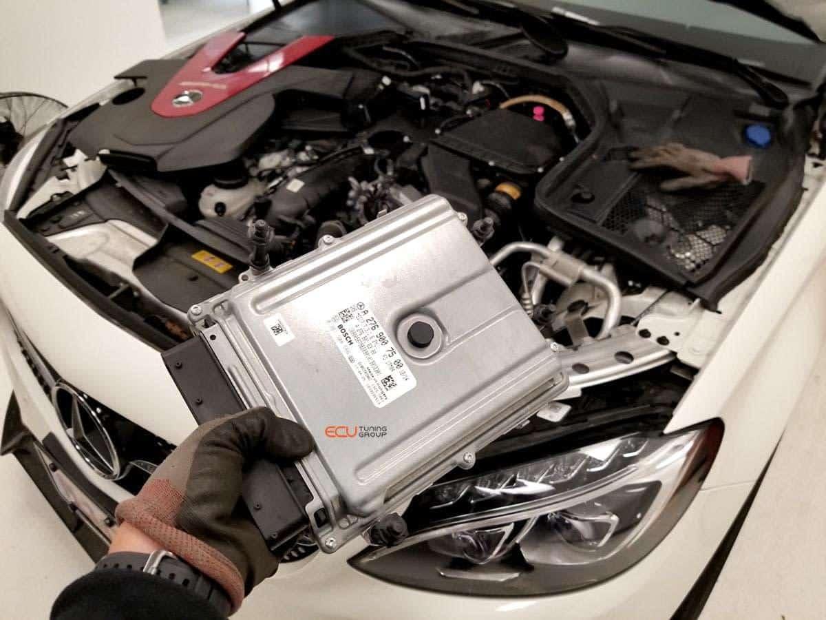 Mercedes-Benz C43 AMG 2017 ECU Tuning | Speed Projects Lab