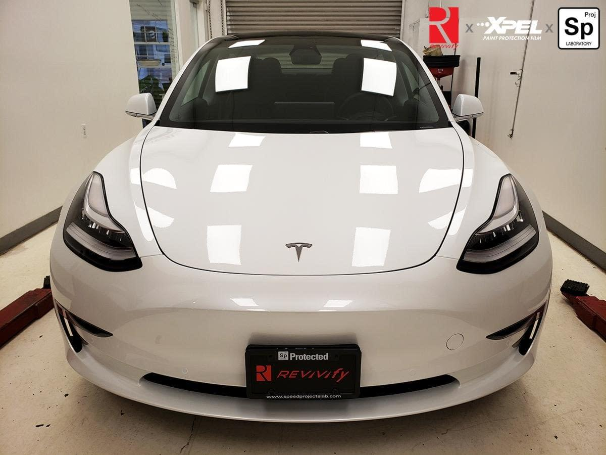 Tesla Model 3 XPEL Ultimate PLUS PPF Package C with ...