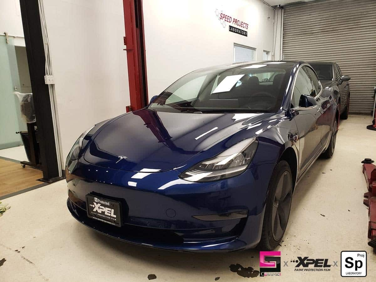 Tesla Model 3 ICBC claim XPEL Ultimate PLUS PPF Front ...